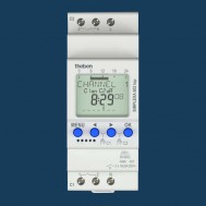 SIMPLEXA 602 top. Thiết bị hẹn giờ kỹ thuật số, theo tuần, 2 kênh, 1 phút, pin sạc