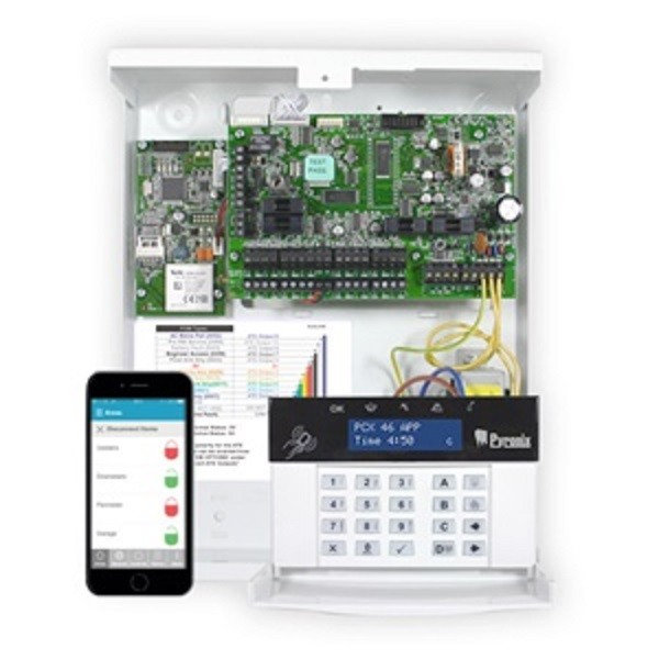 PCX 46S APP. Control Panel Connect up to 46 wired and 32 wireless devices