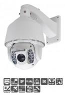 NP6202HAIB - camera bán cầu 1080p, quay, quét, Zoom, hồng ngoại, chống nước
