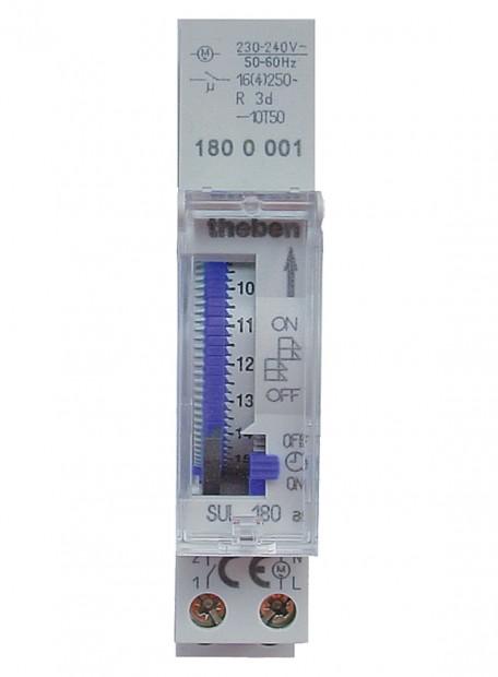 SUL 180 a - Công tắc thời gian, hàng ngày/15 phút, 1 kênh, pin 72h.