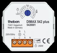 DIMAX 542 plus. Điều khiển cường độ ánh sáng tự động