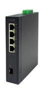 LW-30501GI. Industrial PoE/Gigabits Switch: 4xGE/PSE + 1xGE/SFP. 120W PoE.