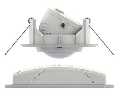 LUXA 103-101 DE WH. Công tắc cảm biến chuyển động, 2 kênh.