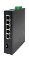 LW-30602GI.  Industrial PoE Switch: 4xGE/PSE (120W)+1xGE/TX+1xSFP.
