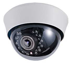 15-CD46VI-2 - camera bán cầu, hồng ngoại, Zoom, 700 TVL
