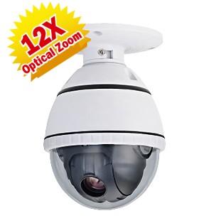 15-CD512H - Camera bán cầu quay, quét, Zoom