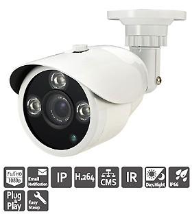 NM22ZP Camera thân, IR, POE, chống nước.