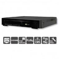NVR108AP - Đầu ghi hình mạng, 8 kênh 1080p, 8 cổng PoE