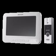 DS-KIS202. Bộ chuông cửa màn hình Analog, có hồng ngoại ban đêm