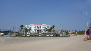 Tòa nhà làm việc chính, công an tỉnh Tuyên Quang