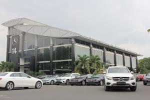 Giải pháp tiết kiệm điện năng tại Mercedes Benz (Quang Trung)